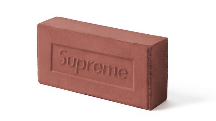 Skate brand Supreme sells red clay bricks for $30
