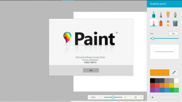 Early version of Microsoft's new Paint app for Windows 10 appears online before official launch
