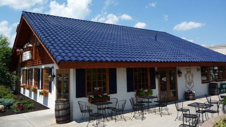 Tesla's Musk demonstrates solar-power roof tiles