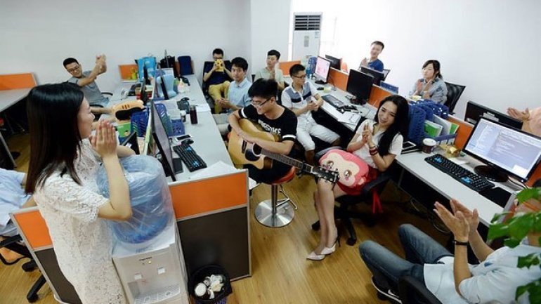 Employment in Chinese tech sector