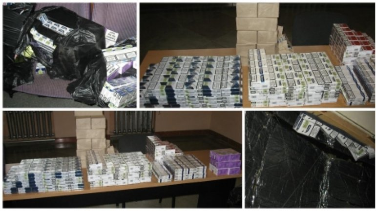 36,000 packs of cigarettes confiscated in joint effort of Ukrainian, Romanian and Moldovan customs authorities