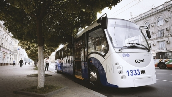 20 trolleybuses to be assembled in Chişinău with spare parts from Belarus