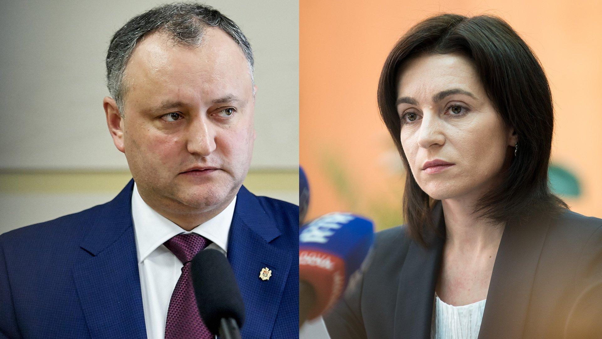Игорь Додон: Влад Филат - политический отец президента Майи Санду
