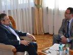 Moldovan foreign minister meets Ukrainian envoy