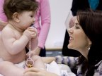 Princess Mary of Denmark encourages mothers to vaccinate children