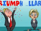 How cartoonists around the world have reacted to Donald Trump's victory