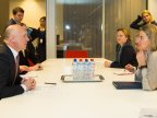 Prime minister meets European Commission Vice-President Federica Mogherini