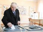 Moldova's president Nicolae Timofti has cast the ballot
