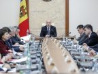 Moldova's Premier leaves for Brussels