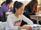 South Korea falls silent for students to focus on college entrance exam