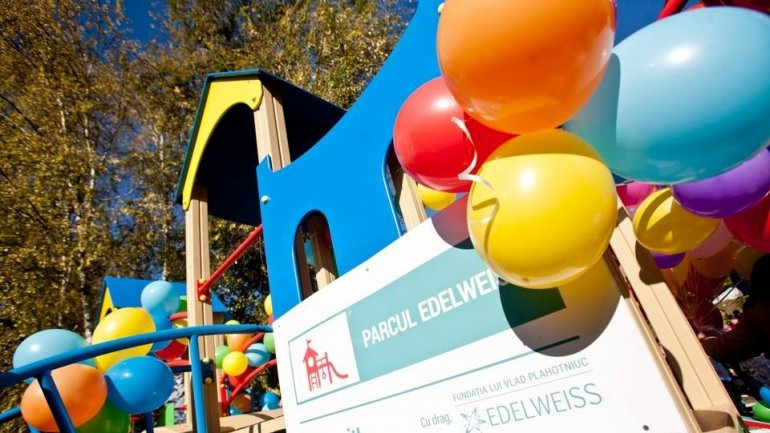 "Safe and Modern ""Edelweiss"" parks. New playground opened in Capital"