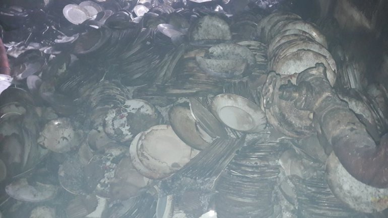 Aftermath of deadly warehouse fire