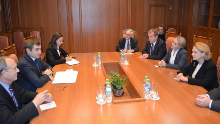 Moldovan deputy foreign minister meets international observers of OSCE, European Parliament