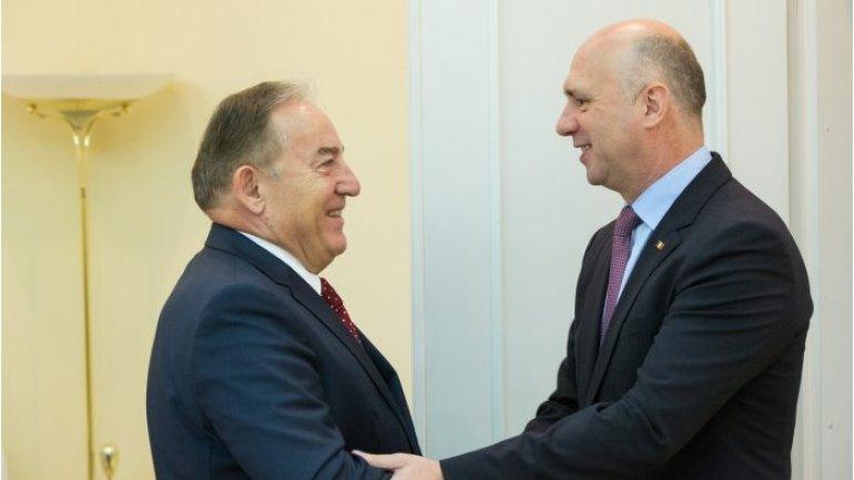 Prime Minister Pavel Filip welcomed Turkish diplomat in Moldova