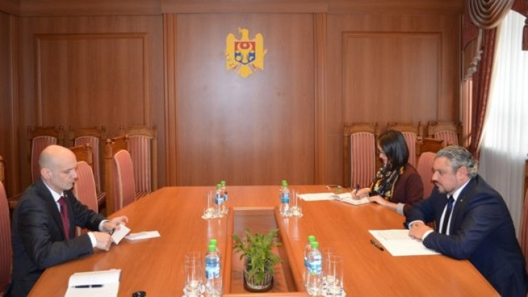 Moldovan foreign minister receives Ambassador of Latvia