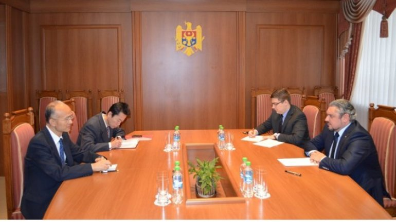 Moldovan foreign minister receives Chinese ambassador