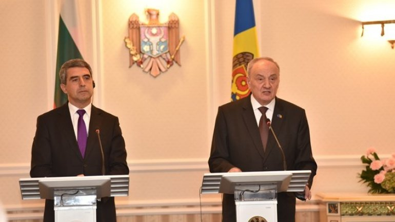 Bulgarian president confirms Bulgaria's intention to support Moldova's European integration