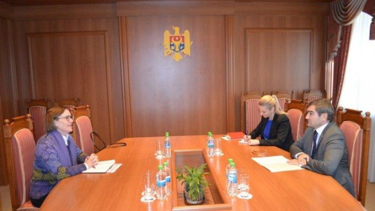 Moldovan deputy foreign minister meets Norwegian ambassador