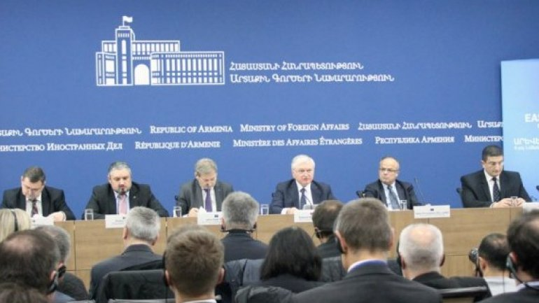 Moldovan deputy premier participates in informal meeting of Eastern Partnership foreign ministers