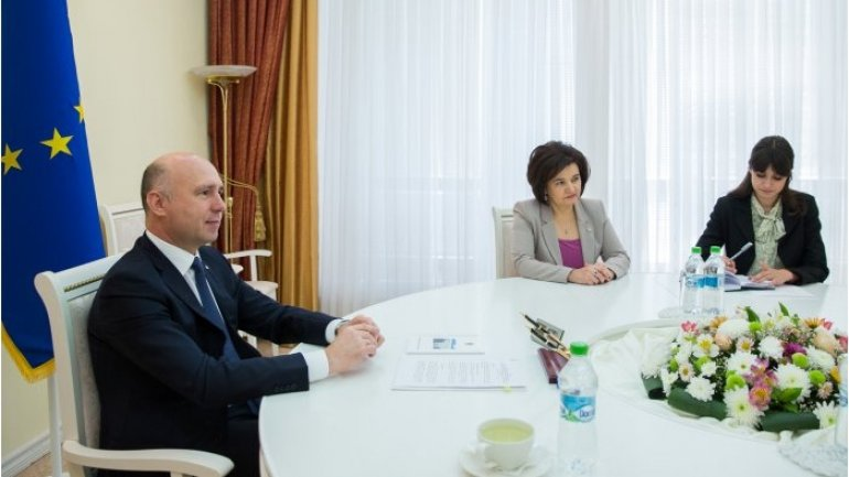 Moldovan premier meets Russian president's special representative for culture