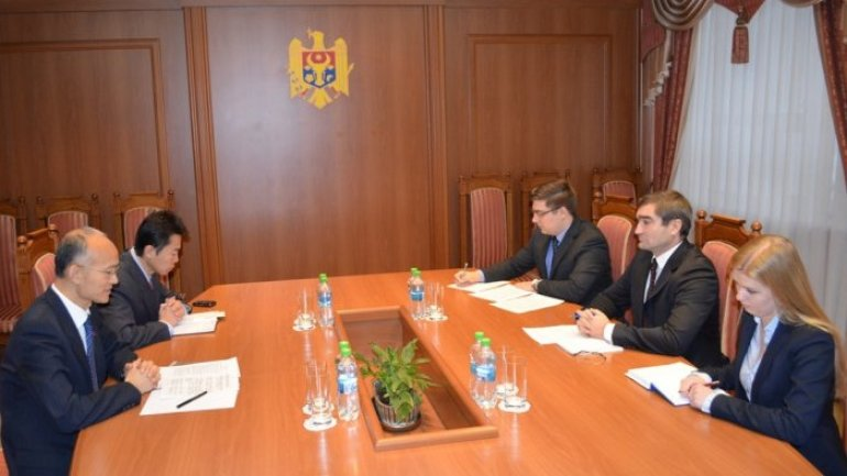 Moldovan deputy foreign minister meets Chinese envoy