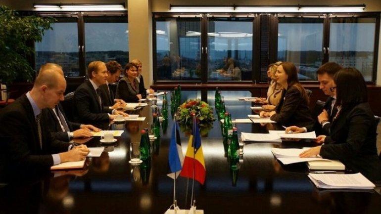 Tallinn hosts Moldovan-Estonian political consultations on European integration
