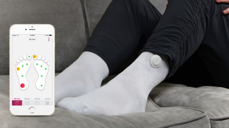 Siren Care makes smart socks for diabetics