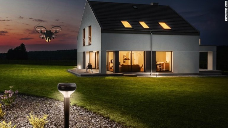 Forget your old alarm system. This drone will protect your house