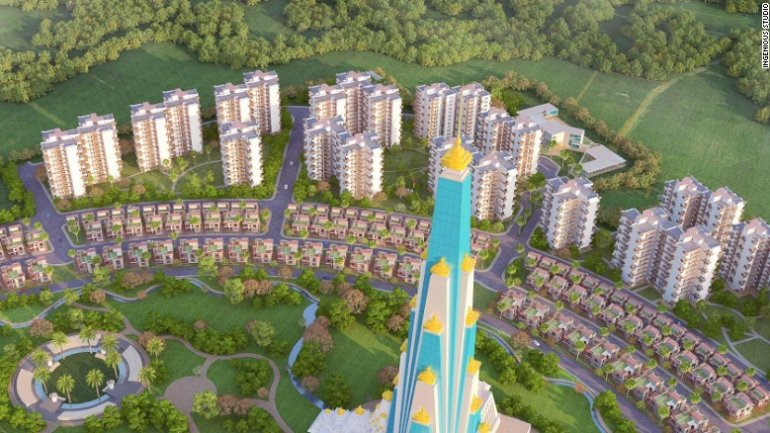 Indian temple to be world's tallest religious skyscraper