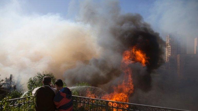 Israeli police detain 23 on suspicion of arson