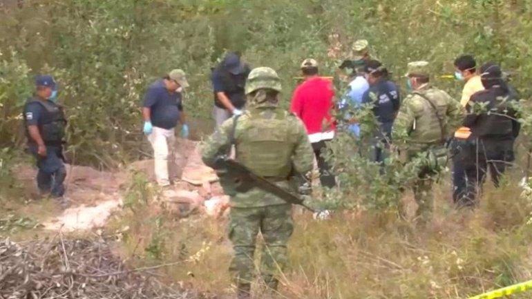 Dozens of bodies found in hidden graves in Mexico