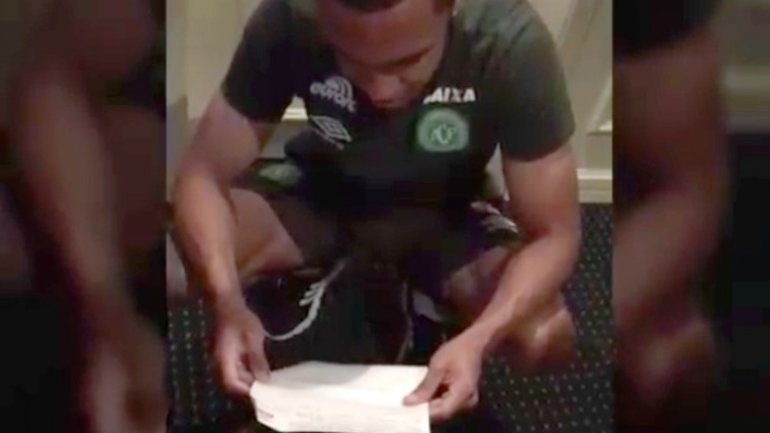 Chapecoense player found out he was to be father a week before crash death (VIDEO)