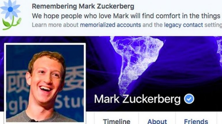 Facebook declares users dead, including Mark Zuckerberg