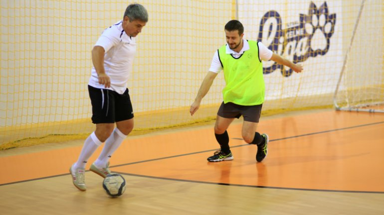 First time in Moldova: Football match between Interior Ministry team and Embassies teams