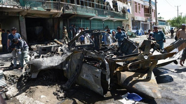 At least 8 die, as suicide bomber goes off at mosque in Kabul