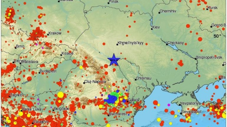 3.6 magnitude earthquake near Moldovan border