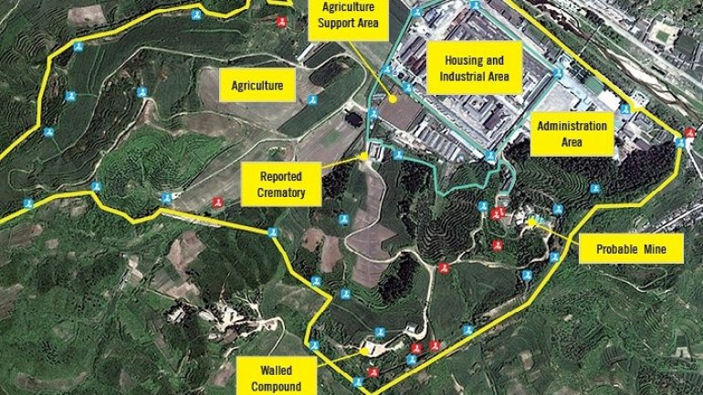 "Satellite images show North Korea prison camps accused of ""atrocities"""