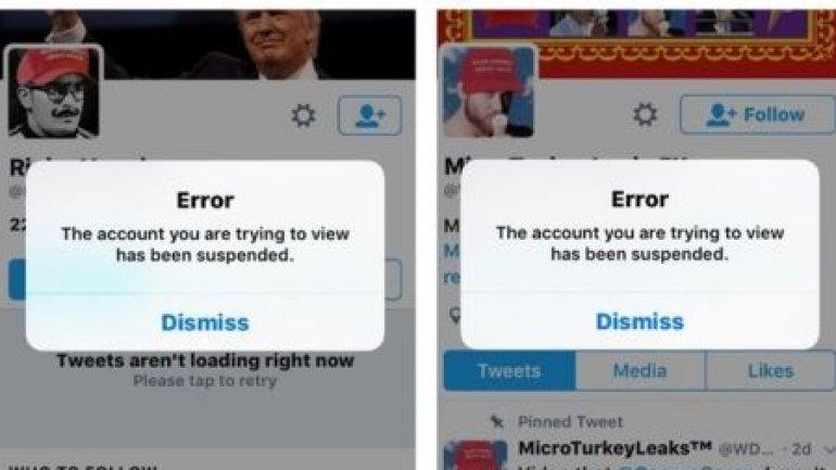 Twitter suspends alt-right figureheads