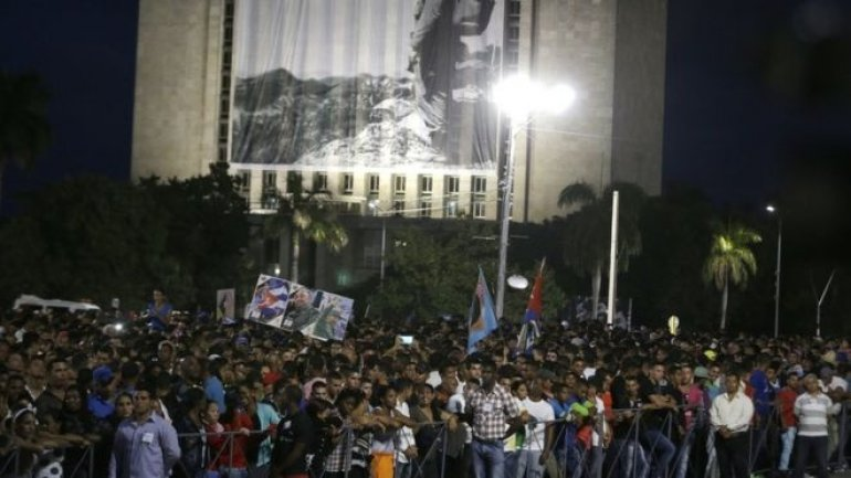 Fidel Castro death: Cuba holds commemoration in Havana