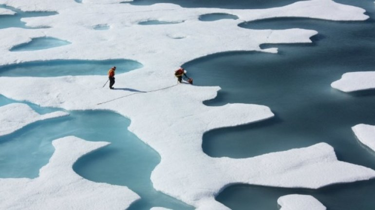 GLOBAL WARMING: North Pole Ocean melts much faster than predicted