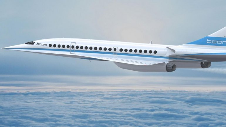 Supersonic plane -- faster than Concorde -- to fly from London to New York in 3:15 h