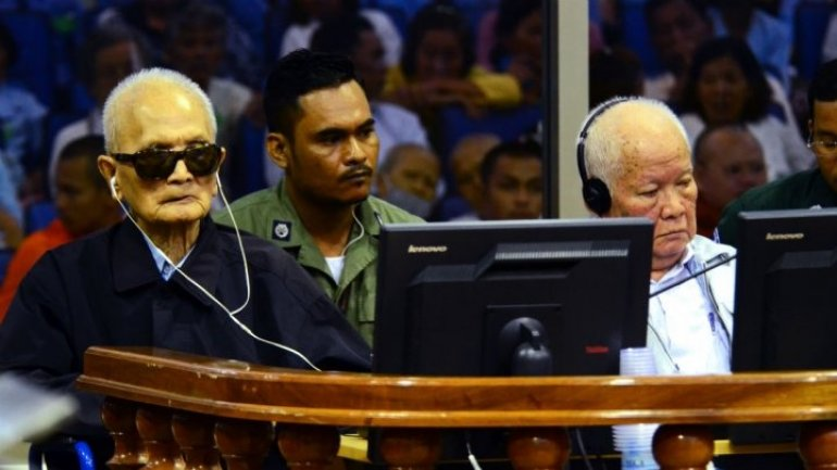 Cambodian Supreme Court maintains life sentences for top Khmer Rouge activists