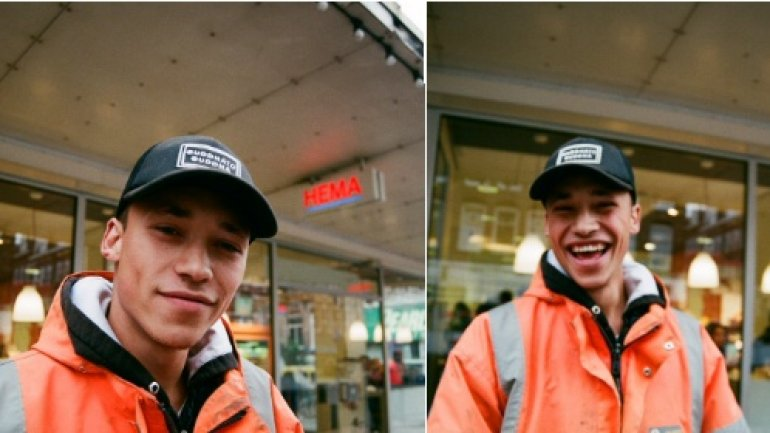 Handsome construction worker becomes model thanks to stranger's photo