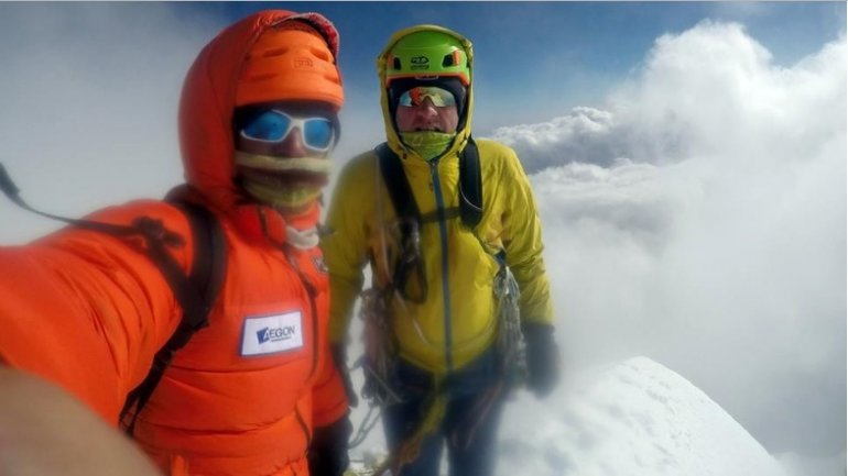 Romanian alpinists summit unclimbed peak in the Himalayas