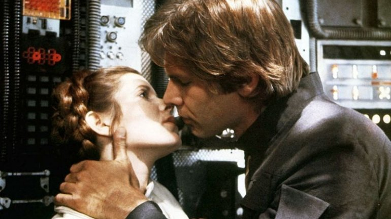 """Actress Carrie Fisher reveals she had an affair with Harrison Ford on """"Star Wars"""""""