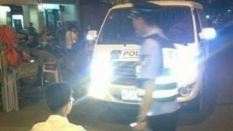 Chinese police invented this punishments for drivers running their headlights on
