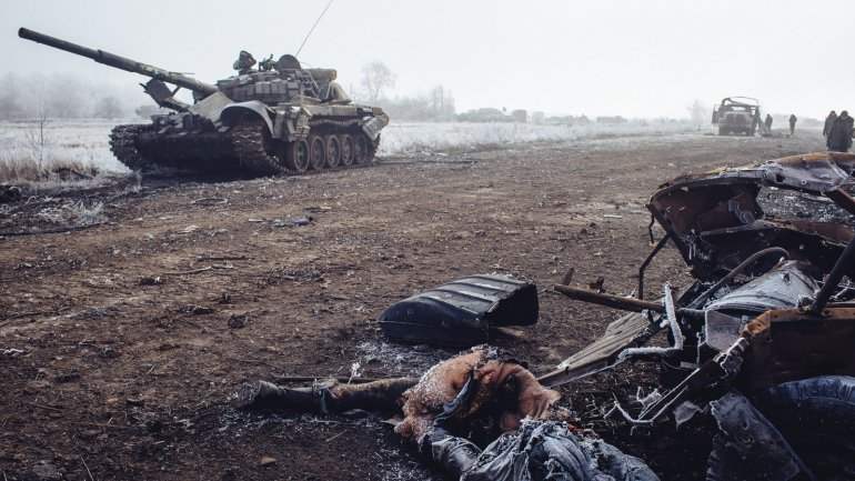 Ukrainian military wounded after attack of pro-Russian militants in Donbas