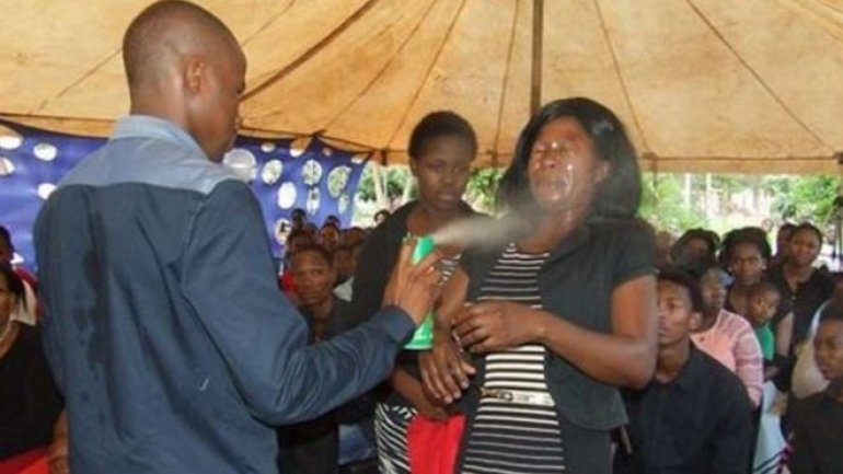 South Africa's Prophet of Doom condemned for using insecticide on his congregation