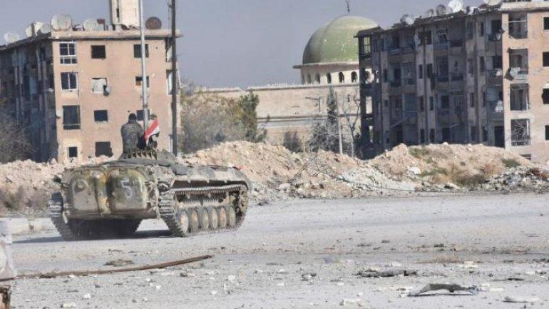 Rescue service say more than 45 were killed in Aleppo attack