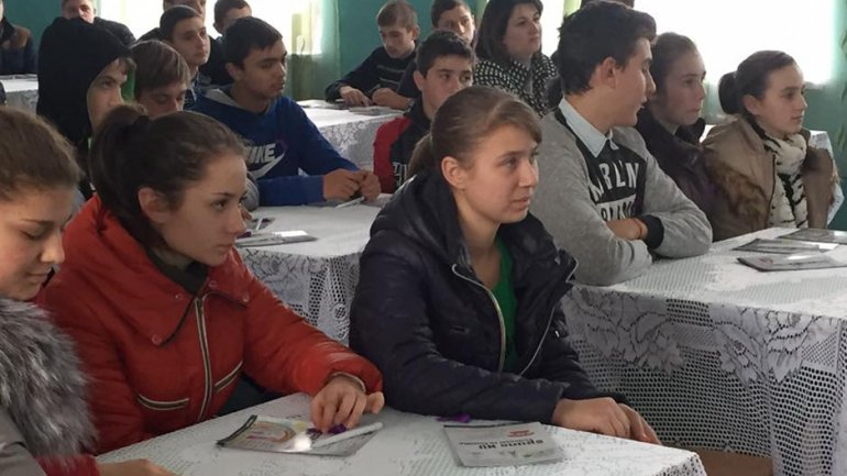 Fight against violence continues. Edelweiss Foundation promotes family values among students (PHOTO)